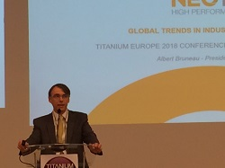 President of Neotiss, Albert Bruneau has spoken during the Titanium Europe 2018 conference in Sevilla